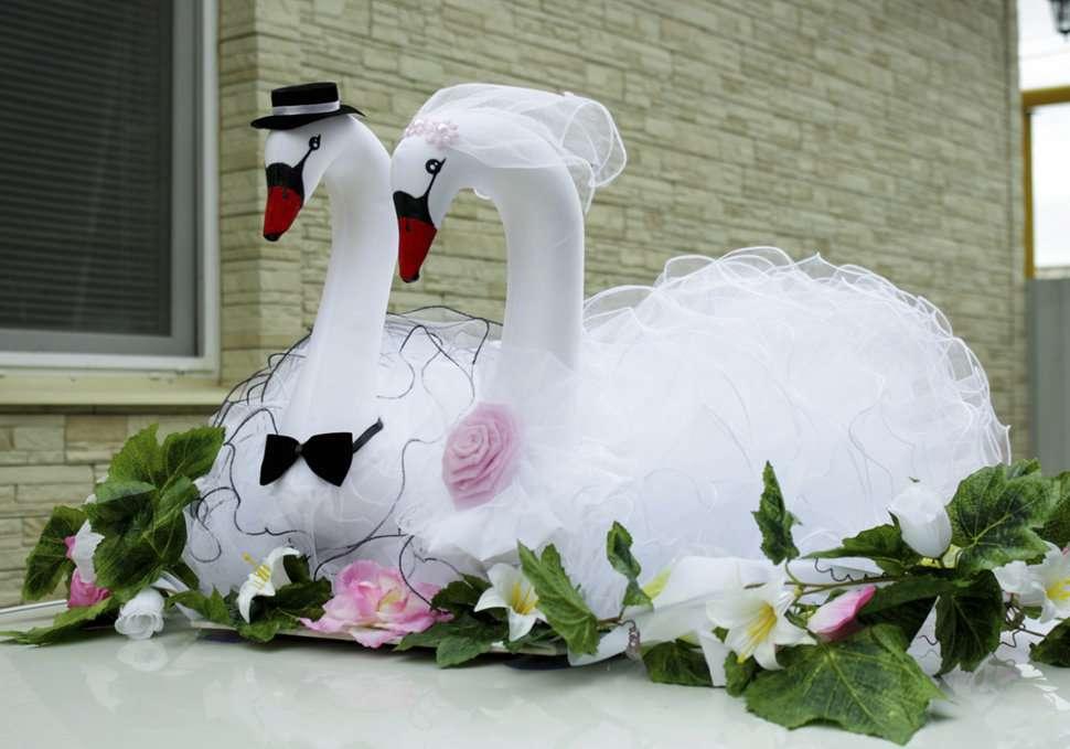 Открытка лебеди свадьба