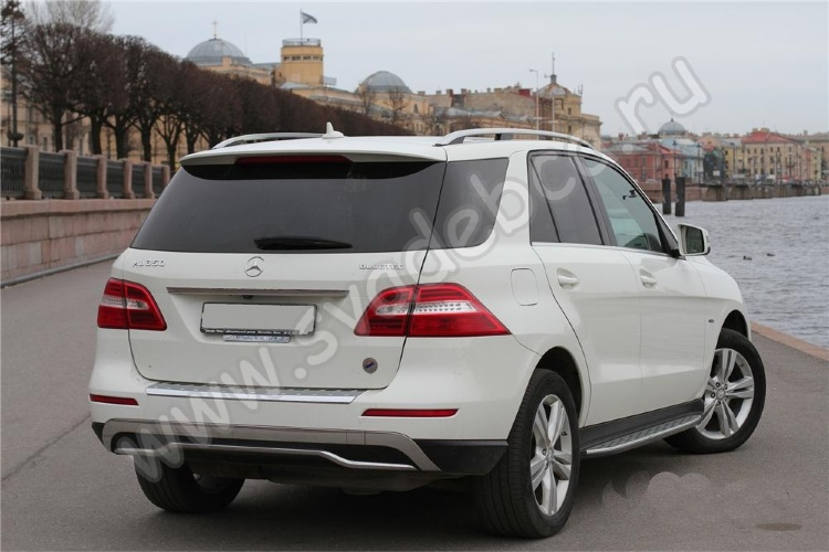Аренда автомобиля Mercedes-Benz ML-350